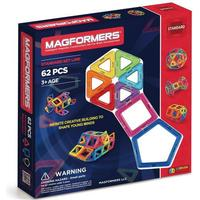 Magformers Rainbow 62pc Set Dele