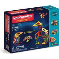 Magformers Rainbow Designer Sæt, 62 Dele