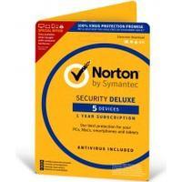 Norton Security Deluxe 3.0 för 5 enheter