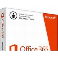 Microsoft Office 365 Personal, 1 År, Tysk, Windows 10 Education,Windows 10 Education x64,Windows 10 Enterprise,Windows 10 Enterprise..., Mac OS X 10.10 Yosemite,Mac OS X 10.11 El Capitan, 3000 MB, 1024 MB
