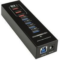 Roline RO14025042 4-Port USB 3.0/3.1 Extern