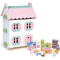 Le Toy Van Dukkehus Med Møbler Sweetheart Cottage