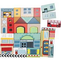 Le Toy Van Timber Town Byggelodser