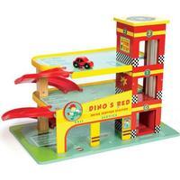 Le Toy Van Dino's Red Garage