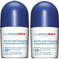 Clarins Men Antiperspirant Deo Roll-on Duo