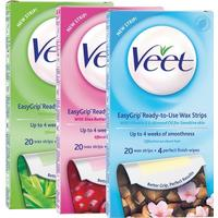 Veet EasyGrip Ready-to-Use Shea Butter & Berry