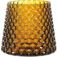 Bloomingville glaskruka amber (gulbrun)