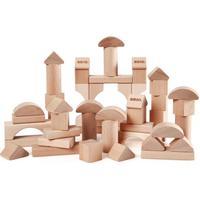 Brio 50 Byggeklodser I Træ Natur 30113