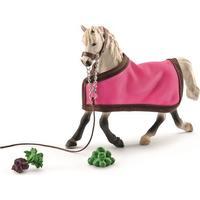 Schleich Arabhäst sto med täcke 41447