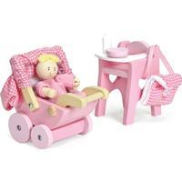 Le Toy Van Dukkehus Puslesæt Med Babydukke