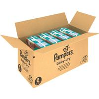 Pampers Baby-Dry Size 6 månadsbox 124 st.