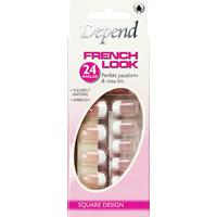 Depend French Look Square Design 6100 24pcs