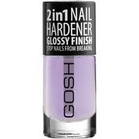 Gosh 2in1 Nail Hardener Glossy Finish 8ml