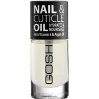 Gosh Nail & Cuticle Oil With Vitamin E & Argan Oil 8ml