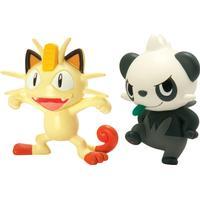Pokémon Battle Figur Pancham vs Meowth