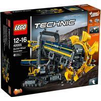 Lego Technic Gravemaskine Med Skovlhjul 42055