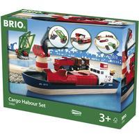 Brio Harbour Cargo Set 33061