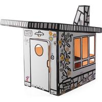 Magis Me Too Villa Julia Kids Play house - white/black/with labels for design/120x165x135cm