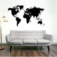 NiceWall World Map 115x200cm