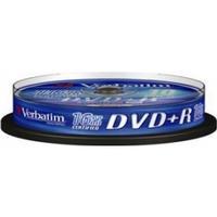 Verbatim DVD+R 4.7GB 16x Spindle 10-Pack