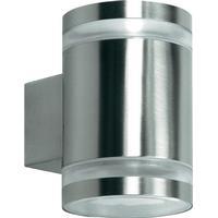 Ranex Volare Rustfri udendørs væglampe med 2 lyskilder op/ned