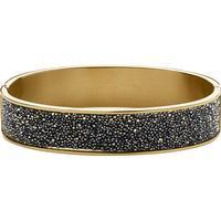 Dyrberg/Kern Shine Armband - Blankt Guld/Grå