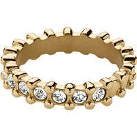 Dyrberg Kern Gafa Ring - Blankt Guld/Kristall