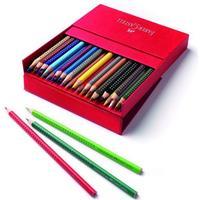 Faber-Castell Grip 2001 Akvarel Farveblyanter I Studio Box 36 Stk