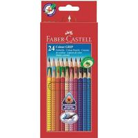 Faber-Castell Colour Grip Cardboard Box of 24