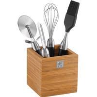 Zwilling TWIN Pure black - Køkkenredskabssæt med 4 dele + beholder