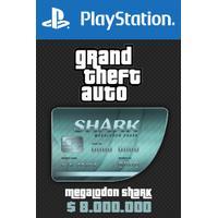 Rockstar Games Megalodon Shark Card - GTA