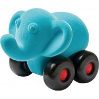 Rubbabu Elefant på hjul stor - Turkos
