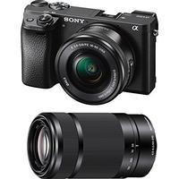 Sony Alpha 6300 + 16-50mm + 55-210mm OSS