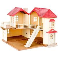 Sylvanian Families Byhus Med Lys - Egernly