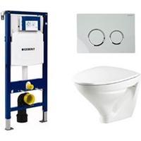 Ifö Vägghängd Toalettstol Ifö Sign 6875 med Geberit Duofix
