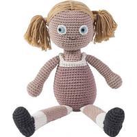 Sebra Crochet Doll Rose