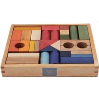 Wooden Story Colored Wooden Blocks 30pcs
