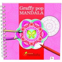 Avenue Mandarine Graffy Pop Mandala Girl 52670O