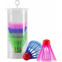 TecnoPro Badmintonball 403 (Farbe: 903 rot/multicolor)