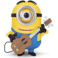 Minion Stuart Interacts With Guitar 20cm