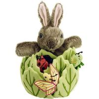 The Puppet Company Rabbit in a Lettuce with 3 Mini Beasts Hide Aways