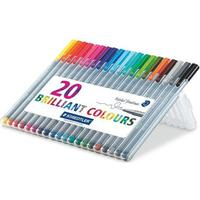 Staedtler Triangular Fineliner 334 SB20