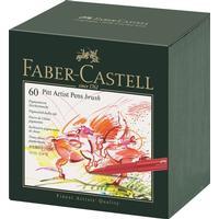 Faber-Castell PITT Artist Pen Brush Studio Box of 60 167150
