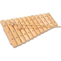 Bontempi Xylophone Formed By 12 Wooden Plates