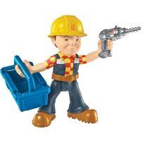 Fisher Price Byggemand Bob Action figur med skruemaskine og værktøjskasse