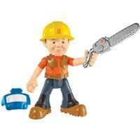 Fisher Price Byggemand Bob Lumberjack Action Figur med motorsav