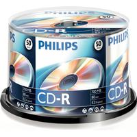 Philips CD-R 700MB 52x Spindle 50-Pack