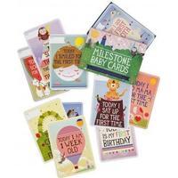 Milestone Milestone Baby Cards English