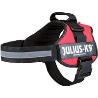 Julius-K9 Belt Harness Red 82-118cm