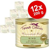 Terra Canis Beef with Carrots, Apple And You 6x200 g
